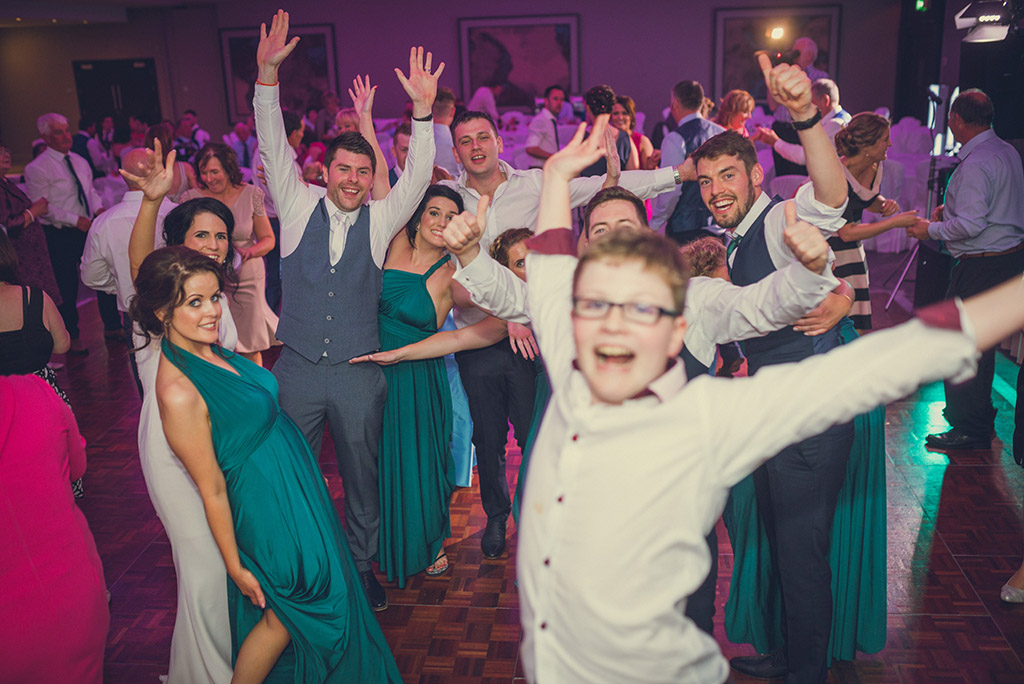 Sinead and Barry at The Radisson Blu in Athlone - Galway Wedding